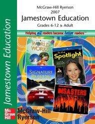 Jamestown Education - McGraw-Hill Ryerson