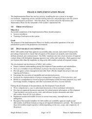 PHASE 8: IMPLEMENTATION PHASE