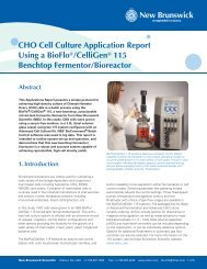 CHO Cell Culture Application Report Using a BioFlo ... - Labo Baza
