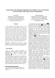 Mixed Integer Linear Programming Approach to the Degree - Czech ...