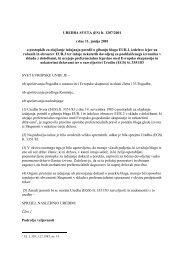 UREDBA SVETA (ES) Å¡t. 1207/2001 z dne 11. junija 2001 o ...