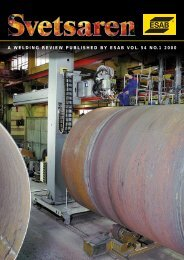 A welding review published by esab vol. 54 no.1 2000