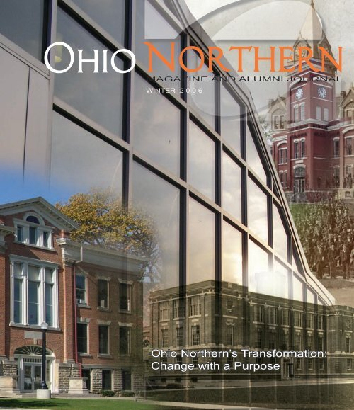 Ohio Northern S Transformation Change With A Purpose