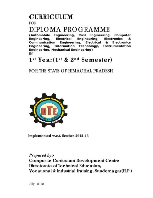Syllabus For Diploma In Electrical Engineering 3rd Semester