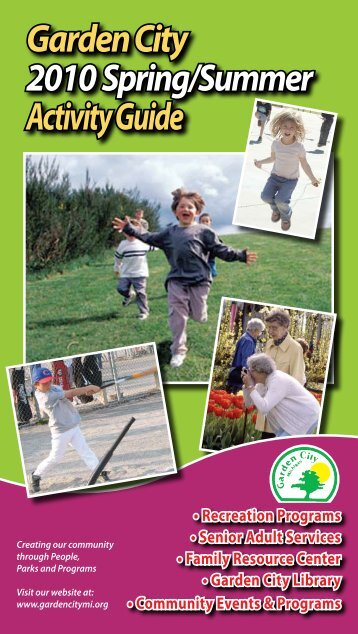 Garden City Activity Guide