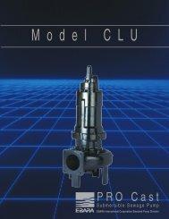 Model CLU product brochure, rev. 0300 - BBC Pump and Equipment