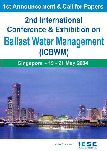 Ballast A5 - Global Ballast Water Programme