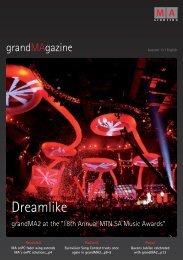grandMAgazine - MA Lighting