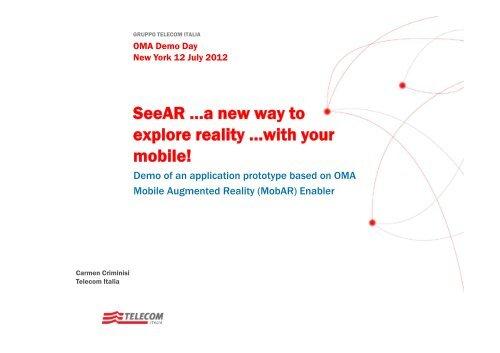 SeeAR - Open Mobile Alliance
