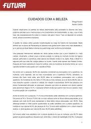 CUIDADOS COM A BELEZA - FuturaNet