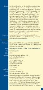 Literaturhinweise zum Thema Organspende und Organtransplantation - Seite 3