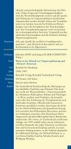 Literaturhinweise zum Thema Organspende und Organtransplantation - Seite 7
