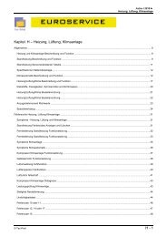 H - 1 Kapitel: H – Heizung, Lüftung, Klimaanlage
