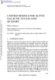 Unified Models for Active Galactic Nuclei and Quasars