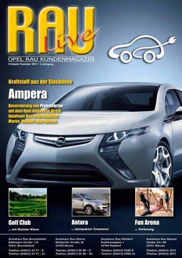 Ampera - Autohaus Manfred Rau