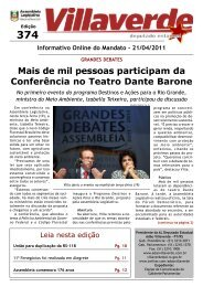 Mais de mil pessoas participam da Conferência ... - Adão Villaverde