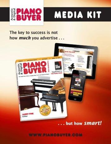 Piano Buyer Media Kit Contract 09/12 - Acoustic & Digital Piano Buyer