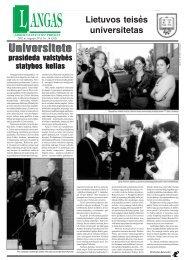 Universitete Universitete - MOKSLAS plius
