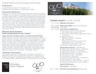 A Special Thanks to All Our OLIO Sponsors and ... - Oregon State Bar