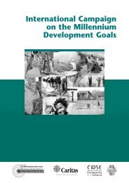 International Campaign on the Millennium Development ... - Choike