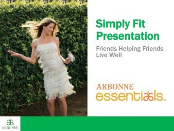 Simply Fit Presentation
