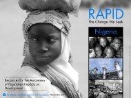 RAPID Nigeria - Health Policy Project