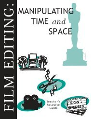 Film editing - Academy of Motion Picture Arts and Sciences