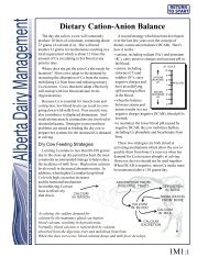 ADM: Dietary Cation-Anion Balance