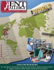 ENT and Allergy Magazine Volume I, Issue VI - ENT & Allergy ...