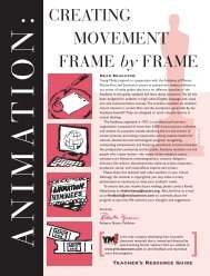 CREATING MOVEMENT FRAME by FRAME - Academy of Motion ...