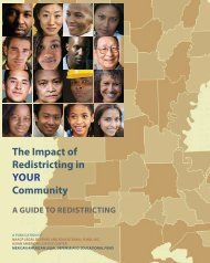 The Impact of Redistricting in YOUR Community - maldef