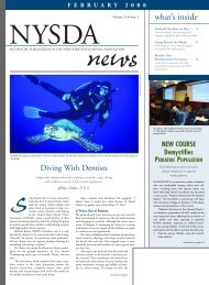 NYSDA News - New York State Dental Association