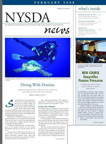NYSDA News - New York State Dental Association