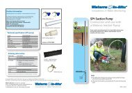 SP1 Suction Pump Connection and use with a ... - Waterra-In-Situ