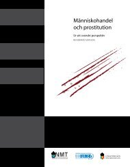Handbok prostitution och människohandel - UN Women Sverige