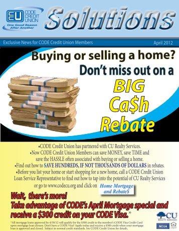 April - CODE Credit Union