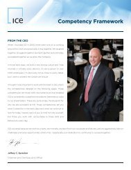 Our Core Competencies - ICE