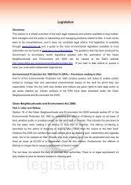 Environmental Protection Act 1990 Part IV (EPA ... - Keep Britain Tidy