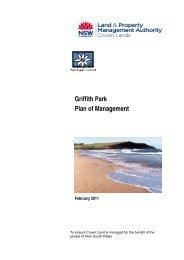 Griffith Park Plan of Management - Land