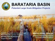 Barataria Basin - NOLA Environmental