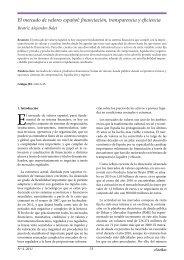 El mercado de valores español: financiación ... - extoikos