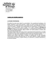 Istituto Europeo di Design - IM education