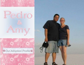 Pedro and Amy - The Adoption Alliance