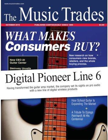Having transformed the guitar amp market, the ... - Lauda Audio