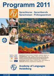Prüfungszentrum - F+U Academy of Languages Heidelberg