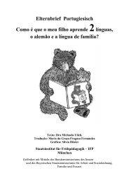 Elternbrief Portugiesisch Como é que o meu filho aprende ... - IFP