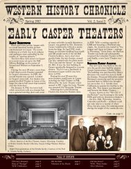 Volume 2 ~ Issue 3 - Casper College