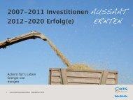 ERNTEN - KTG Agrar AG