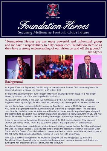 Background - Melbourne Football Club