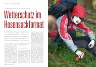 know-how:regenjacken - Outdoor Guide